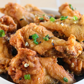 Salt and Pepper Chicken Wings.