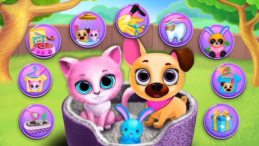 Kiki & Fifi Pet Friends - Virtual Cat & Dog Care 4.0.93 screenshots 1