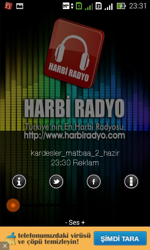 Harbi Radyo- screenshot