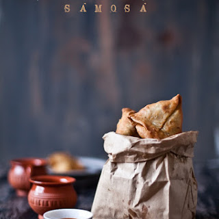 Potatoes and Peas Samosa