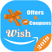 Coupons codes for Wish 2019 Icon