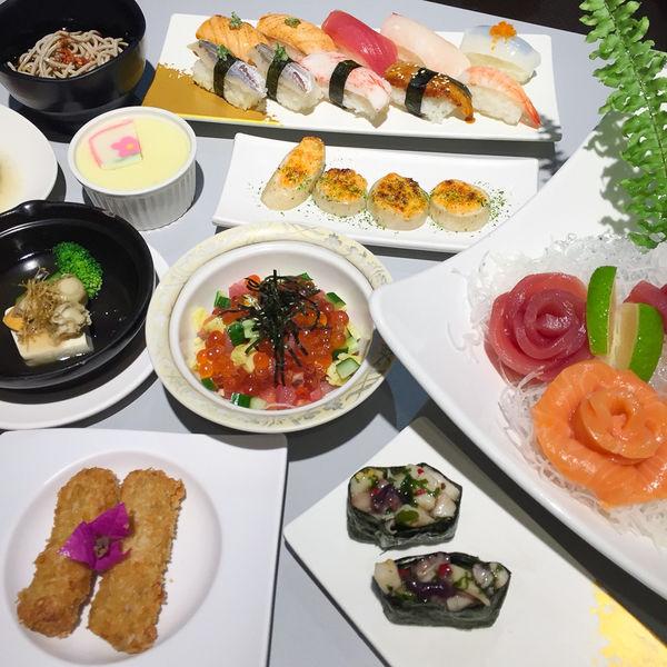 平價日式料理吃到飽│東加和漢創作料理│盡情享用綜合生魚片、握壽司、烤物,適合聚餐! -台南女孩凱莉吃透透