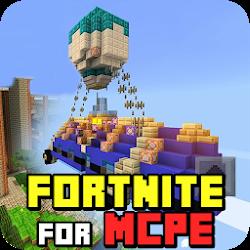 Mod of Fortnite Battle Royale for MCPE