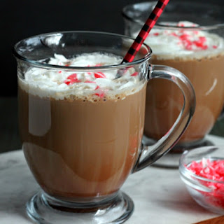 Homemade Peppermint Mocha Latte