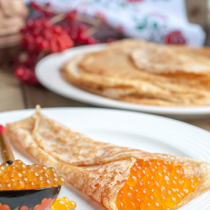 Russian Kefir Crepes Recipe