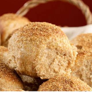 Soft Whole-Wheat Dinner Rolls.