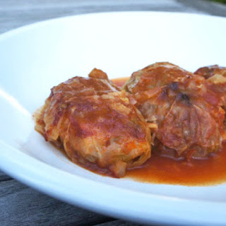 Brisket-Stuffed Cabbage