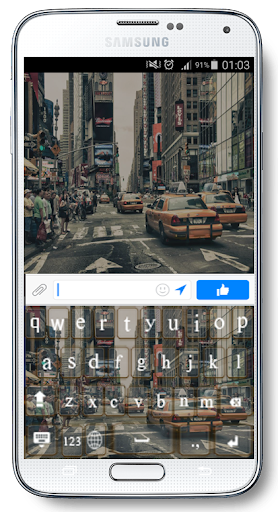 Cities Keyboard Go Themes