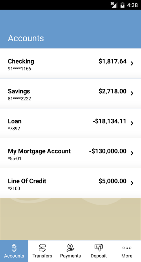 Lafayette Federal Credit Union- screenshot
