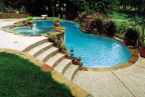 Diện tích bể bơi phụ thuộc vào diện tích đất xây dựng
