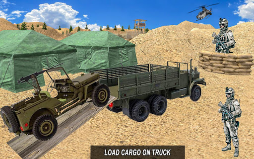 Army Truck 4x4 Check Post