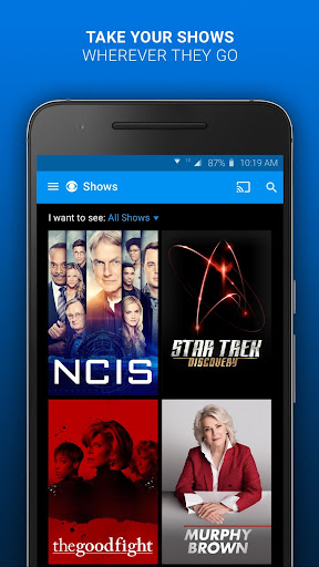 Screenshot for CBS - Full Episodes & Live TV in United States Play Store