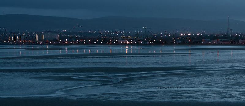 Photo: Dublin Bay by night, Dublin