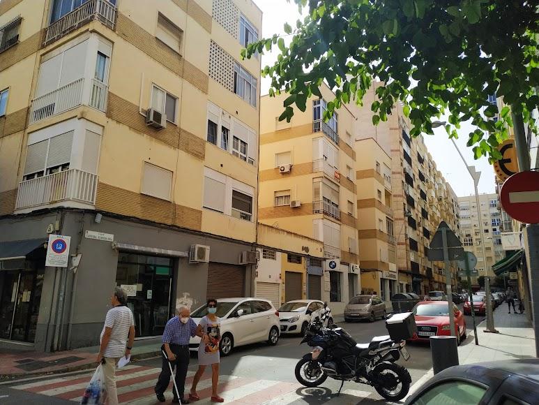 Calle Cardenal Herrera Oria, donde creció Mar de los Ríos