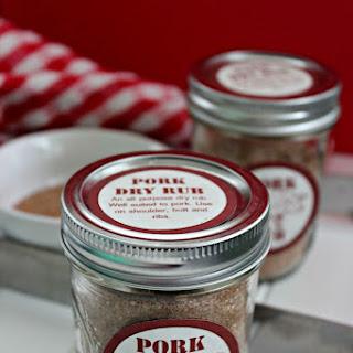 Brown Sugar Dry Rub For Pork Recipes.