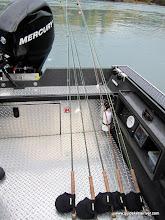 Photo: The trout arsenal with Alaska Drift Away Fishing.