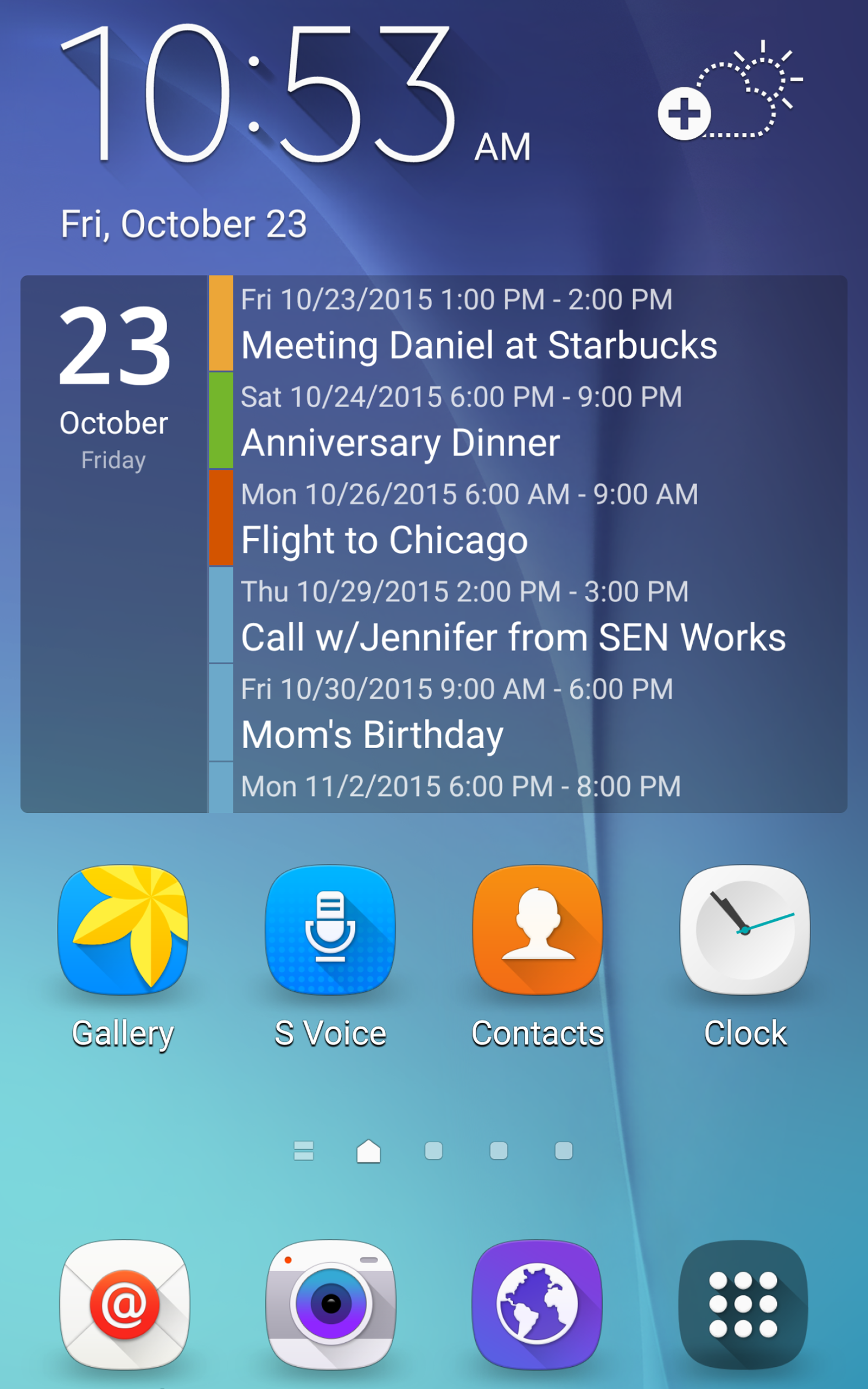 Clean Calendar Widget Pro screenshot #7