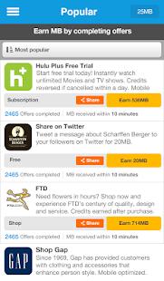 Kickbit, More Mobile Data- screenshot thumbnail