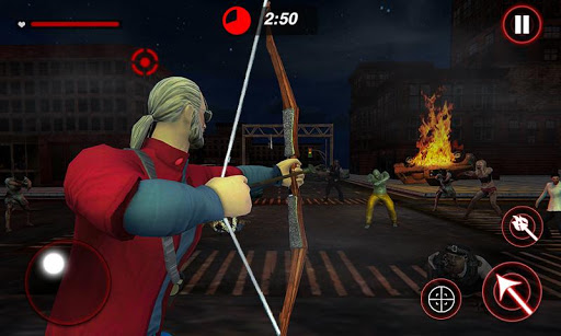 Archer Hunting Zombie City Last Battle 3D 1.0.4 screenshots 1