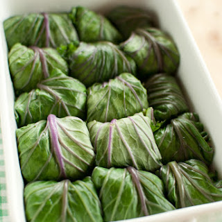 Kale Rolls with Quinoa and Chickpea Stuffing Recipe
