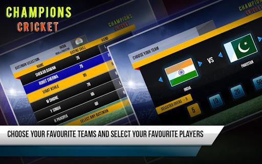 Champions Cricket 1.6.7 screenshots 2