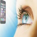 filter bluelight eye keeping icon