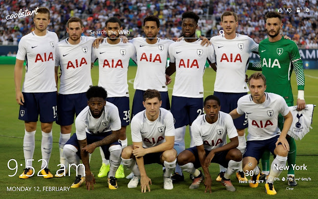 Tottenham Hotspurs Hd Wallpapers Theme