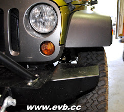 """Photo: Stocl JK wheels with a 2"""" lift"""