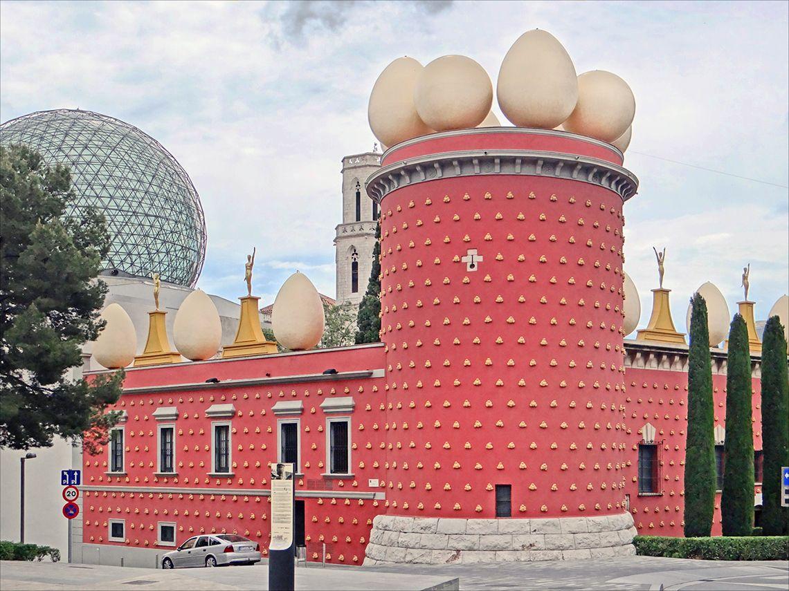 Музей Сальвадора Дали в Figueras