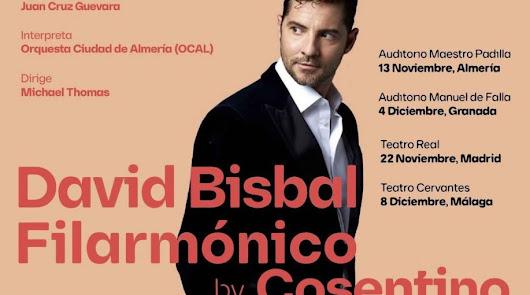 Salen a la venta las entradas para el concierto filarmónico de David Bisbal