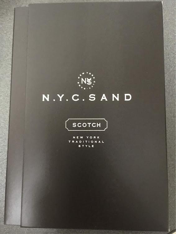 ニューヨークスカッチサンドの箱