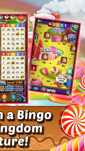 Bingo Quest - Christmas Candy Kingdom Game