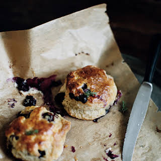 Perfectly Delicious Blueberry Scones.