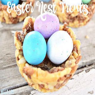 Rice Crispy Bird's Nests