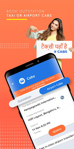 Goibibo - Hotel Car Flight IRCTC Train Bus Booking screenshot 8