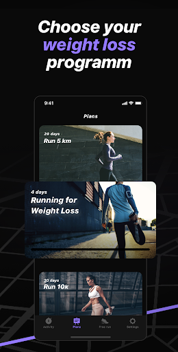 Weight Loss Running by Runiac screenshot 3