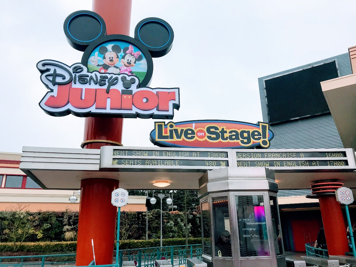 Disney Junior Live on Stage - Just beside Stitch Live!