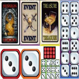 warhammer dice card kit