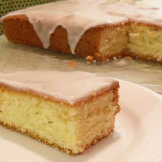 Easy Iced Lime Cake