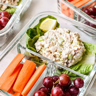 Low Carb Tuna Salad Lettuce Wraps Meal Prep Recipe
