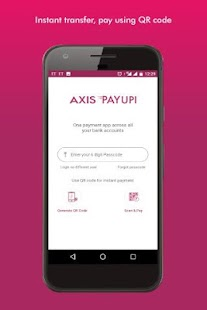 BHIM Axis Pay UPI app- screenshot thumbnail