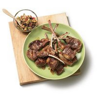 Grilled Lamb Chops with Lemon Relish