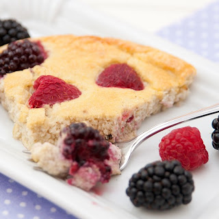 Sweet Ricotta and Berry Pie.