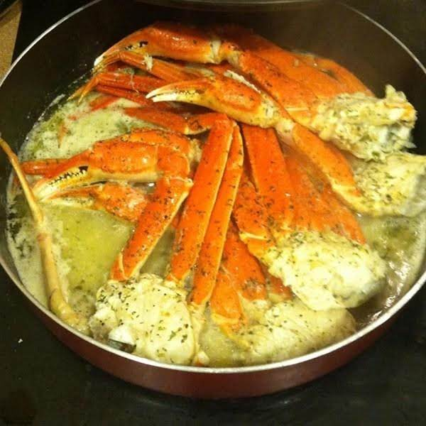 Charlize S Garlic Butter Crab Legs Just A Pinch Recipes