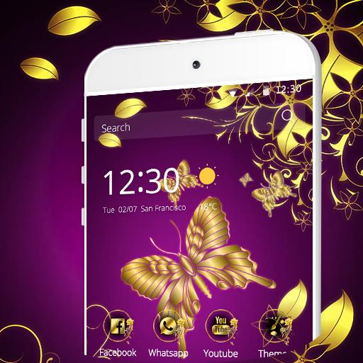黃金花蝴蝶 商業 App LOGO-硬是要APP