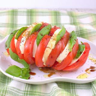Hasselback Salad Caprese.