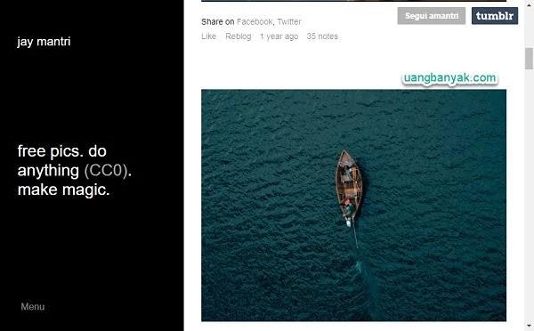 penyedia gambar gratis jay mantri untuk keperluan blogging