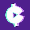 Make Money & Earn Cash Rewards: Play Music & Games icon