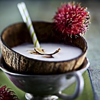 Homemade Coconut Milk.