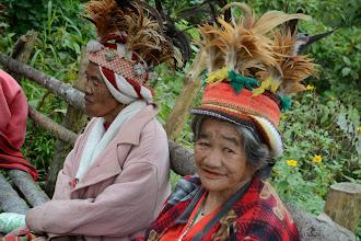 Photo: Old women of Ifugao tribe
